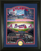 "Atlanta Braves ""SunTrust Park"" Bronze Coin Photo Mint"