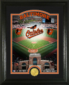 "Baltimore Orioles ""Stadium"" Bronze Coin Photo Mint"
