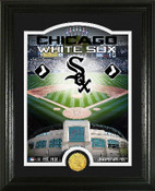 "Chicago White Sox ""Stadium"" Bronze Coin Photo Mint"