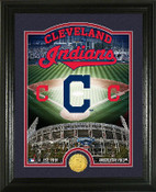 "Cleveland Indians ""Stadium"" Bronze Coin Photo Mint"