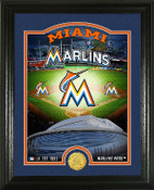 "Miami Marlins ""Stadium"" Bronze Coin Photo Mint"