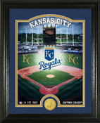 "Kansas City Royals ""Stadium"" Bronze Coin Photo Mint"