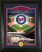 "Minnesota Twins ""Stadium"" Bronze Coin Photo Mint"
