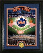 "New York Mets ""Stadium"" Bronze Coin Photo Mint"