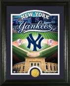 "New York Yankees ""Stadium"" Bronze Coin Photo Mint"