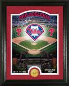 "Philadelphia Phillies ""Stadium"" Bronze Coin Photo Mint"