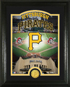 "Pittsburgh Pirates ""Stadium"" Bronze Coin Photo Mint"