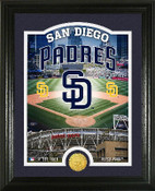 "San Diego Padres ""Stadium"" Bronze Coin Photo Mint"