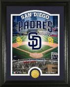 "San Diego Padres ""Stadium"" Bronze Coin Photo Mint"