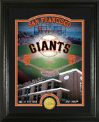 "San Francisco Giants ""Stadium"" Bronze Coin Photo Mint"