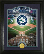 "Seattle Mariners ""Stadium"" Bronze Coin Photo Mint"