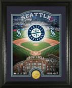 "Seattle Mariners ""Stadium"" Bronze Coin Photo Mint"