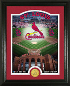 "St. Louis Cardinals ""Stadium"" Bronze Coin Photo Mint"