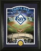 "Tampa Bay Rays ""Stadium"" Bronze Coin Photo Mint"