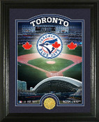 "Toronto Blue Jays ""Stadium"" Bronze Coin Photo Mint"