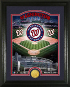 "Washington Nationals ""Stadium"" Bronze Coin Photo Mint"