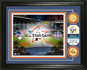 2017 MLB All Star Game Gold Coin Photo Mint