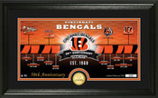 Cincinnati Bengals 50th Anniversary Panoramic Bronze Coin Photo Mint