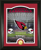 "Arizona Cardinals ""Stadium"" Bronze Coin Photo Mint"