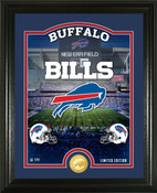 "Buffalo Bills ""Stadium"" Bronze Coin Photo Mint"
