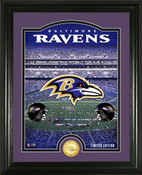 "Baltimore Ravens ""Stadium"" Bronze Coin Photo Mint"