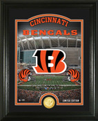 "Cincinnati Bengals ""Stadium"" Bronze Coin Photo Mint"