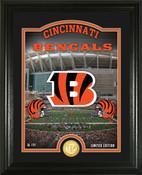 "Cincinnati Bengals ""Stadium"" Bronze Coin Photo Mint"