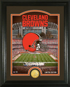"Cleveland Browns ""Stadium"" Bronze Coin Photo Mint"