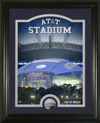 "Dallas Cowboys ""Stadium"" Silver Coin Photo Mint"