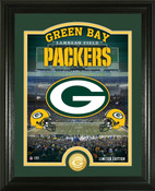 "Green Bay Packers ""Stadium"" Bronze Coin Photo Mint"