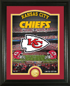"Kansas City Chiefs ""Stadium"" Bronze Coin Photo Mint"