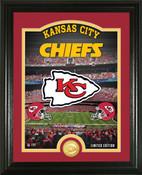 "Kansas City Chiefs ""Stadium"" Bronze Coin Photo Mint"