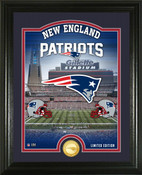 "New England Patriots ""Stadium"" Bronze Coin Photo Mint"