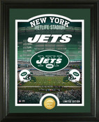 "New York Jets ""Stadium"" Bronze Coin Photo Mint"