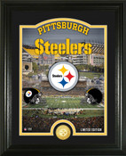 "Pittsburgh Steelers ""Stadium"" Bronze Coin Photo Mint"