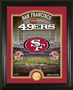 "San Francisco 49ers ""Stadium"" Bronze Coin Photo Mint"