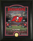 "Tampa Bay Buccaneers ""Stadium"" Bronze Coin Photo Mint"