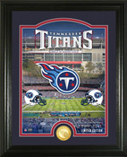 "Tennessee Titans ""Stadium"" Bronze Coin Photo Mint"