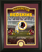 "Washington Redskins ""Stadium"" Bronze Coin Photo Mint"
