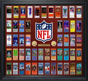 Super Bowl 51 Ticket Collection Gold Coin Frame