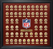 Super Bowl 51 Gold Flip Coin Collection Frame
