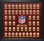 Super Bowl 51 Gold Flip Coin Collection Frame