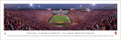USC Trojans vs Texas Longhorns at the Los Angeles Coliseum Panorama Poster