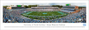 North Carolina Tarheels at Kenan Stadium Panorama Poster