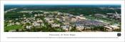 University of Notre Dame Fighting Irish Aerial Panorama Poster