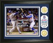 Los Angeles Dodgers 2017 NLCS MVP Bronze Coin Photo Mint