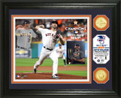 Houston Astros 2017 ALCS MVP Bronze Coin Photo Mint