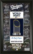 Los Angeles Dodgers 2017 NL Champions Signature Frame