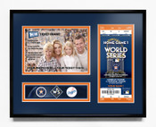 2017 World Series 5x7 Photo Ticket Frame - Houston Astros