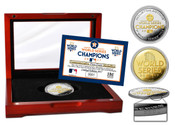 Houston Astros 2017 World Series Champions Official Two-Tone Mint Coin